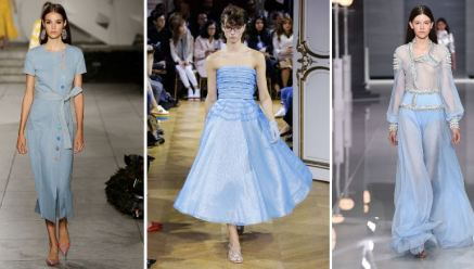 Blue Sky - Carolina Herrera, John Galliano, Ralph & Russo