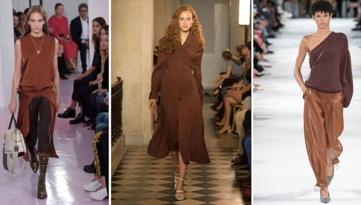 Chocolate Brown - Chloe, Jacquemus, Stella McCartney