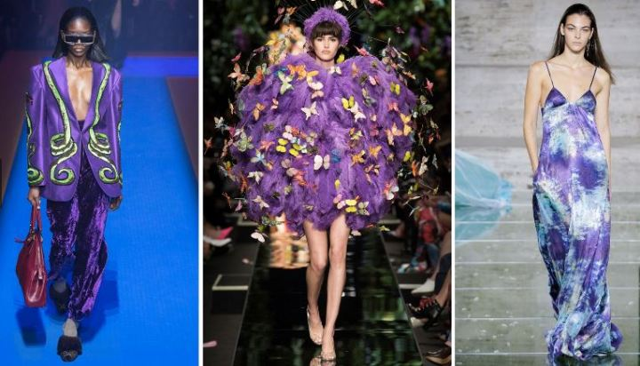 Vogue Italy - Ultra Violet Gucci, Moschino, Salvatore Ferragamo