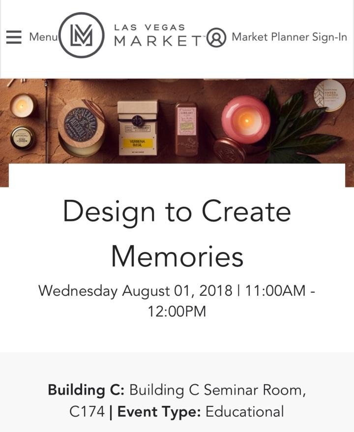 Design to Create Memories |LVM